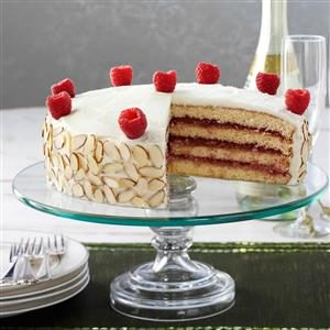 Almond Raspberry Torte Recipe