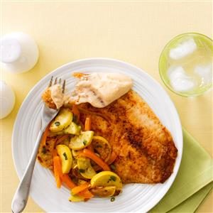 Ancho Chili-Spiced Tilapia Recipe