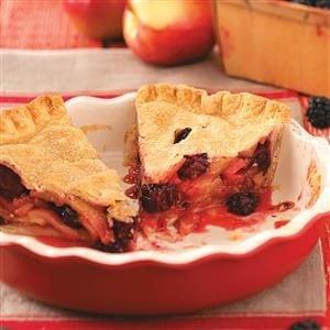 Apple & Blackberry Pie Recipe