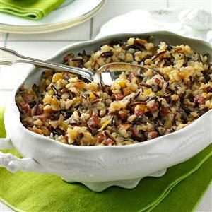 Apple & Sausage Wild  Rice Recipe