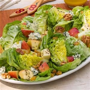 Apple, Blue Cheese & Bibb Salad for Two Recipe