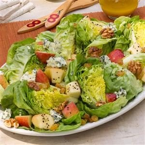Apple, Blue Cheese & Bibb Salad Recipe