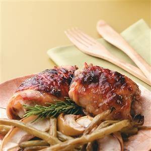 Apple-Brined Chicken Thighs Recipe