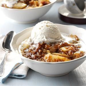 Apple Butterscotch Crisp Recipe