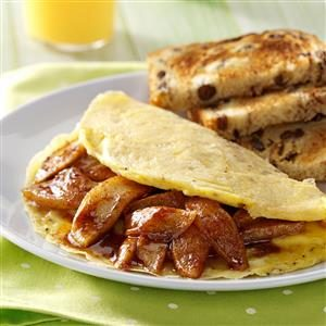 Apple Cinnamon Omelet Recipe
