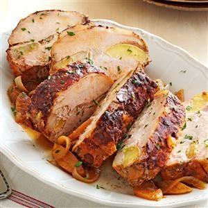 Apple-Cinnamon Pork Loin