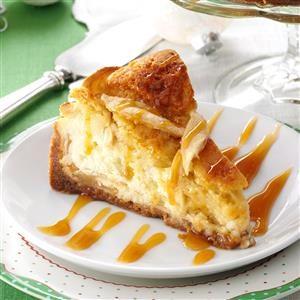 Apple Cobbler Cheesecake Recipe