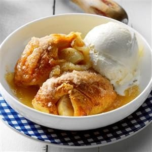 Apple Dumpling Bake