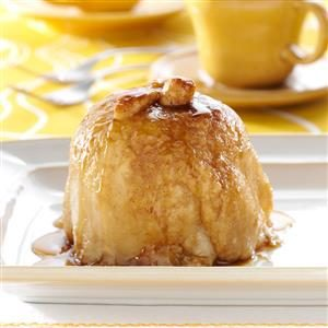 Apple Dumplings with Sauce Recipe