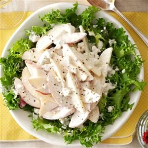 Apple-Gorgonzola Endive Salad Recipe