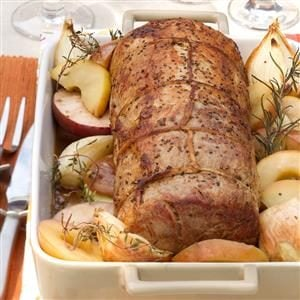 Apple Orchard Pork Roast Recipe