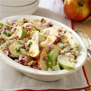Apple Salad with Tzatziki Dressing Recipe