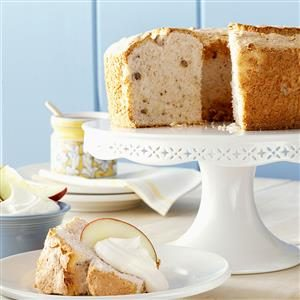 Apple-Spice Angel Food Cake