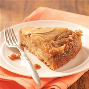 Apple Upside-Down Cake Recipe