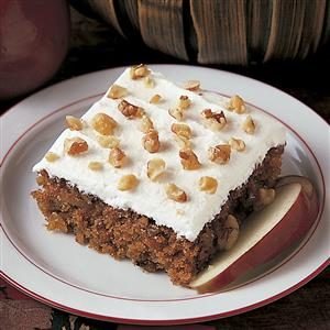 Apple Walnut Cake Recipe