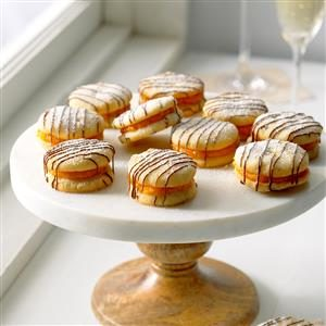 Apricot-Filled Sandwich Cookies Recipe