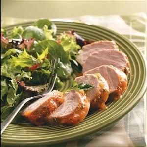 Apricot-Glazed Pork Tenderloin Recipe