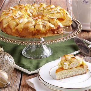Apricot Twist Coffee Cake Recipe