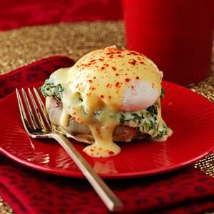 Artichoke & Spinach Eggs Benedict Recipe