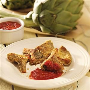 Artichoke Hearts Romano Recipe