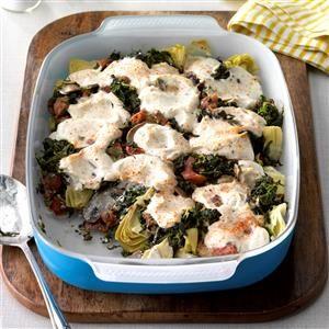 Artichoke Spinach Casserole Recipe