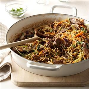 Asian Beef & Noodles