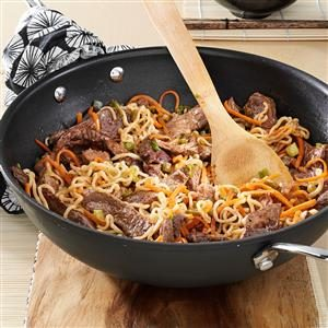 Asian Beef Noodles Recipe