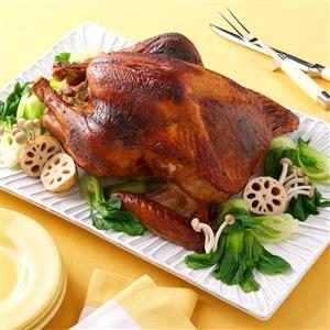 Asian Spiced Turkey Recipe