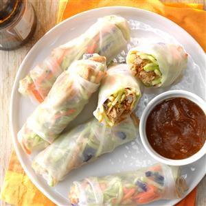 Asian Wraps Recipe