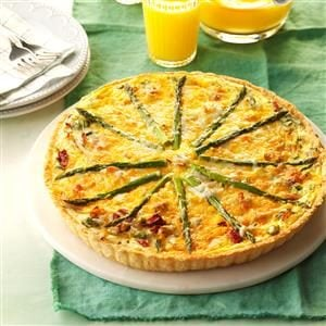 Asparagus, Bacon & Shallot Tart Recipe