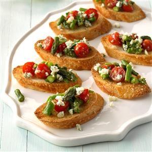Asparagus Bruschetta Recipe