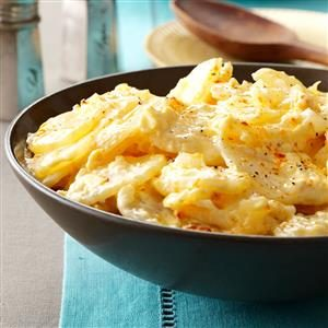 Au Gratin Garlic Potatoes Recipe
