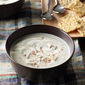 Aunt Nancy's Cream of Crab Soup Recipe