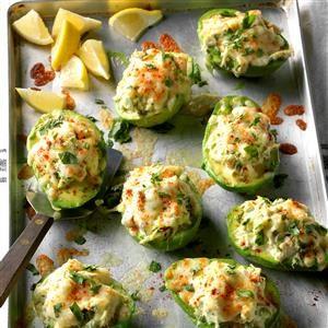 Avocado Crab Boats Recipe