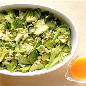 Avocado Romaine Salad Recipe