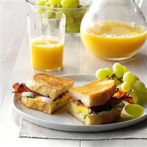 Bacon 'n' Egg Sandwiches Recipe