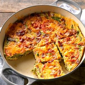Bacon and Asparagus Frittata Recipe