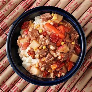Bacon-Beef Barley Soup Recipe