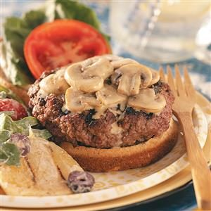 Bacon-Blue Cheese Stuffed Burgers for Two Recipe