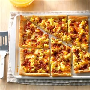 Bacon Breakfast Pizza Recipe