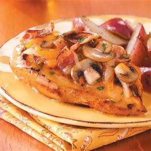 Bacon-Cheese Topped Chicken Recipe
