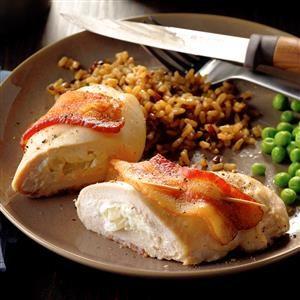 Bacon Chicken Roll-Ups Recipe