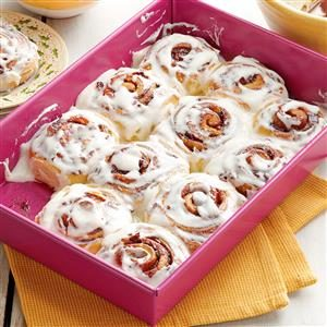 Bacon Cinnamon Buns