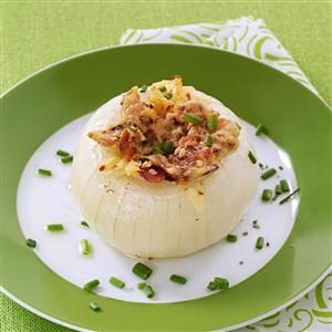 Bacon-Gouda Stuffed Onions Recipe