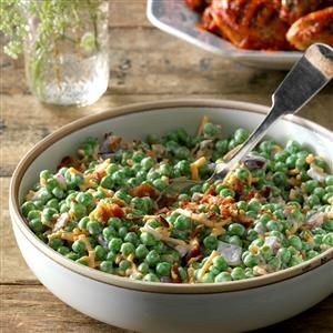 Bacon Pea Salad