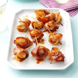 Bacon Water Chestnut Wraps Recipe