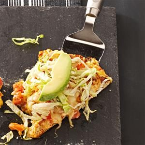 Baja Chicken Taco Pizza Recipe