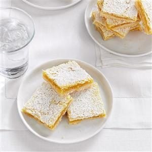 Watch Us Make: Bake Sale Lemon Bars