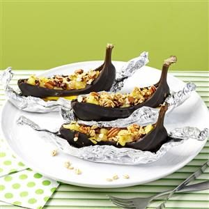 Baked Banana Boats Recipe