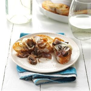 Baked Brie with Mushrooms Recipe